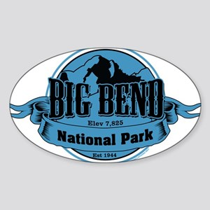 big bend 3 Sticker